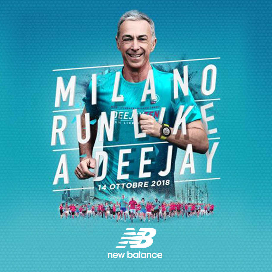 New Balance: On Air per la DeeJay Ten milanese.