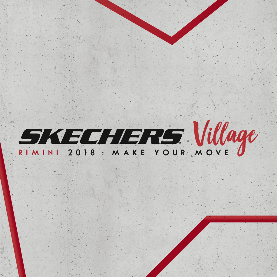 Lo Skechers Village al Rimini Wellness 2018.